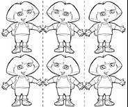 Characterdora for Dora the explorer map template
